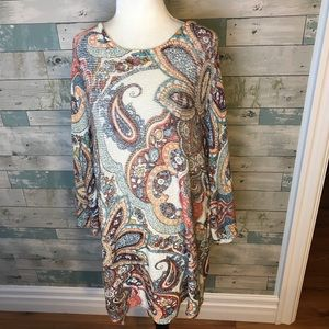 Chico's sweater size XL